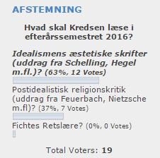 Udklip - Afstemning E16 - 1